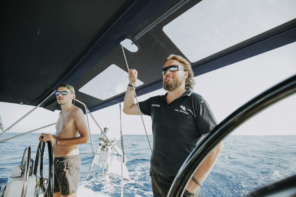 experienta skipper velier si catamaran